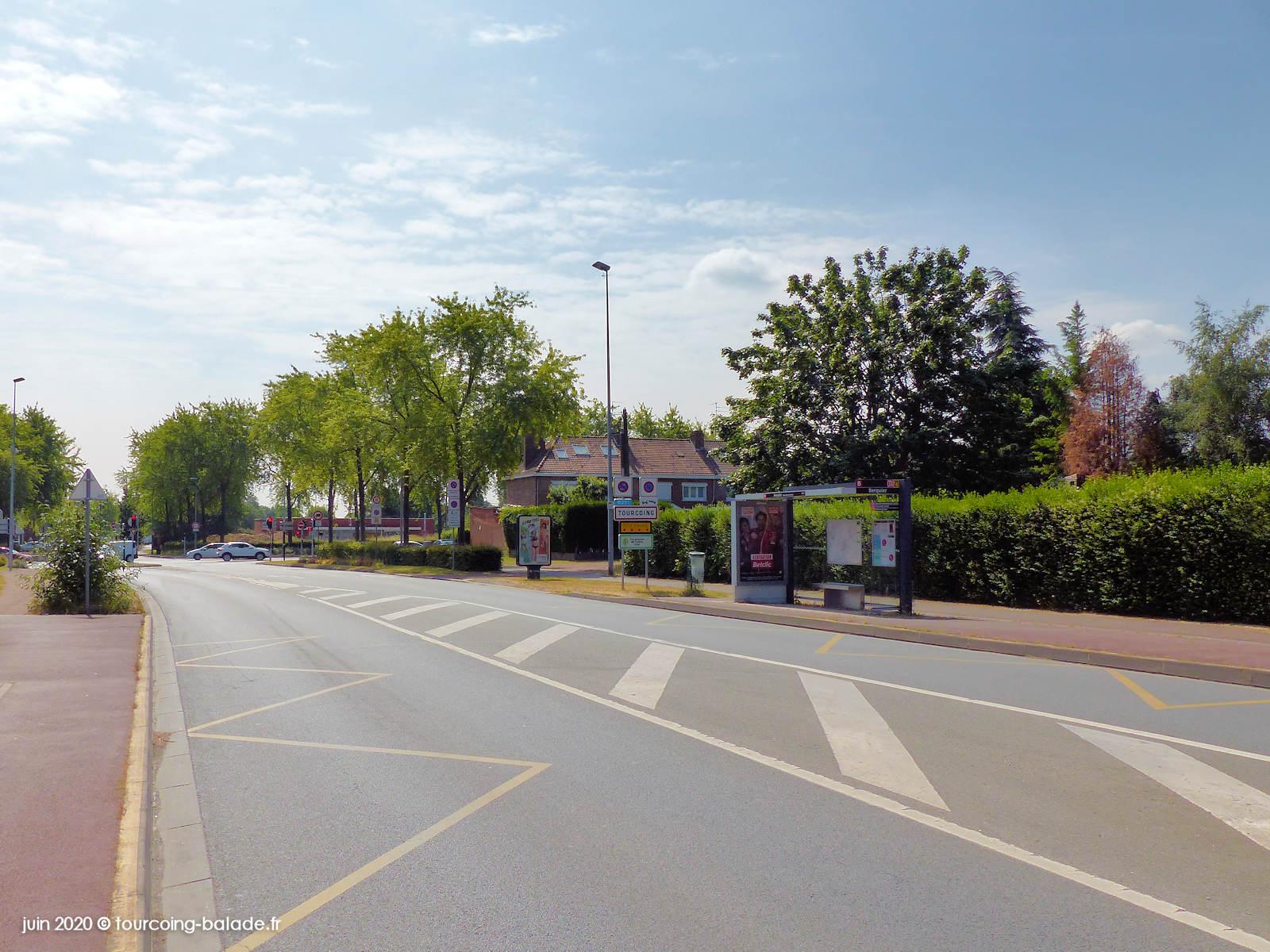 Rue dela Briqueterie, Neuville-en-Ferrain, 2020