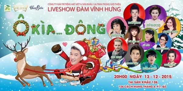 """Mr Đàm và live show """"Ô kìa …Đông"""""""