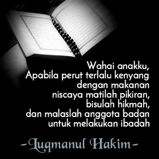 mutiara hikmah Luqmanul Hakim