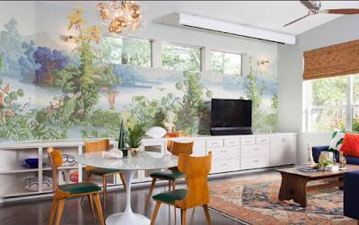 Mempercantik Rumah Minimalis dengan Wallpaper