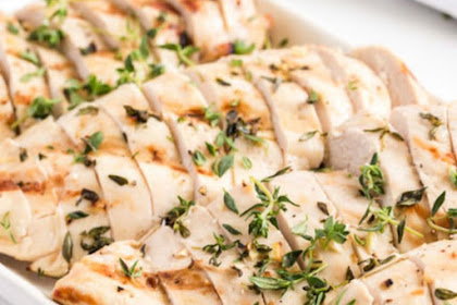 Grilled Chicken In Garlic Marinade