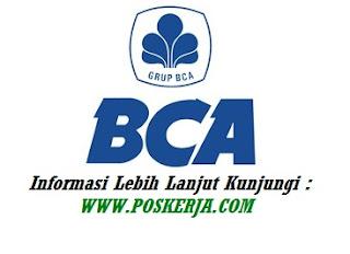 Lowongan Kerja Bank BCA September 2019