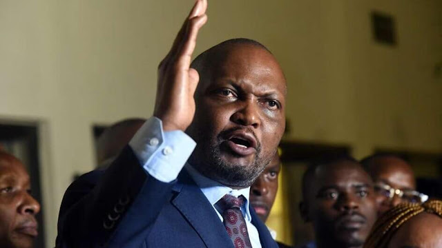 Moses Kuria controversy photos and on the spot