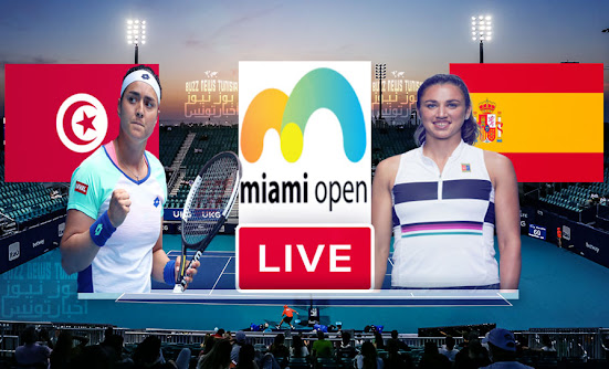 Match Tennis Ons Jabeur vs Sara Sorribes en direct Miami Open 2021