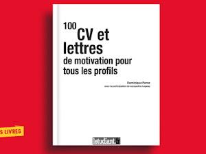 Télécharger : 100 CV et lettres de motivation pour tous les profils en pdf
