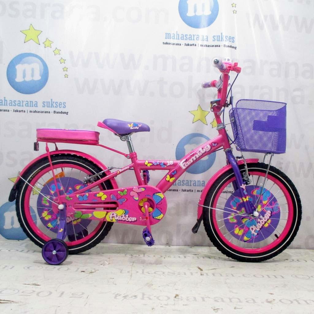 tokosarana™   Mahasarana Sukses™: Sepeda Anak Family