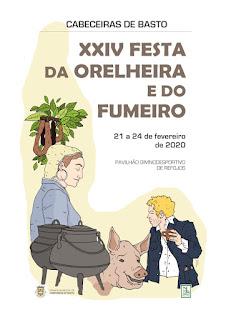 Cartaz Festa da Orelheira e Fumeiro 2020
