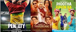 Family Of Thakurganj, Jhoota Kahin Ka And Penalty Budget & Box Office Collections