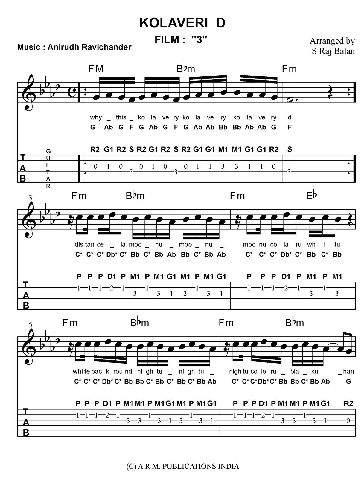 Hindi songs sheet music for piano bollywood sheet music for Piano dance music 90 s