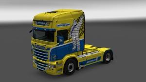 Michelin Skin for Scania RJL