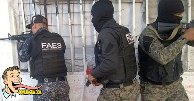FAES revela que les exigen una cantidad de muertos por mes para poder ganar su sueldo