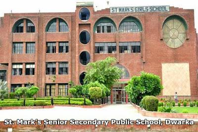 St. Mark's Senior Secondary Public School, Dwarka