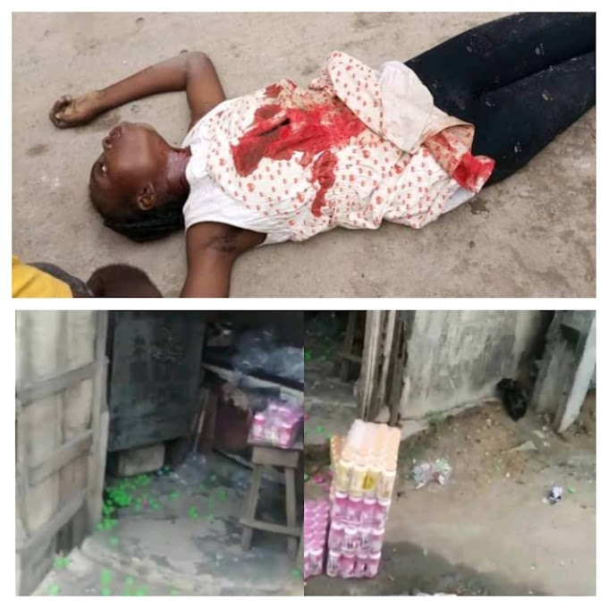 STRAY BULLET KILLED A GIRL AT YOTUBA NATION PROTEST IN LAGOS{PHOTOS}.