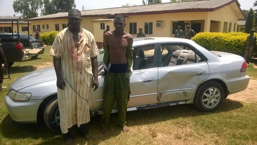 Two Deadly Kidnappers Caught While Going to Collect Ransom Money in Kaduna (Photo)