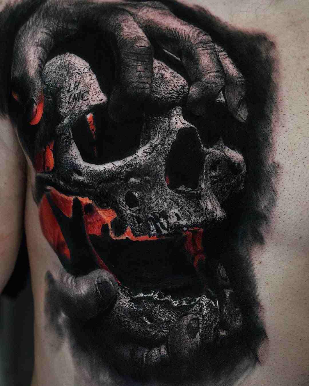 significado-del-tatuaje-de-calavera