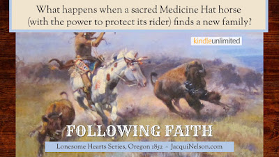 What happens with a sacred Medicine Hat horse (with the power to protect its rider) finds a new family?