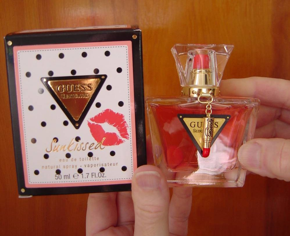 Guess Seductive Sunkissed Perfume Review Beauty Cooks Kisses