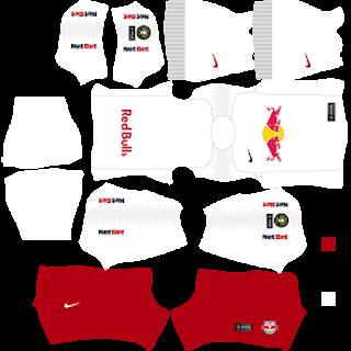 Kit DLS New York Red Bull 2019-2020 - Kit Dream League Soccer 2020