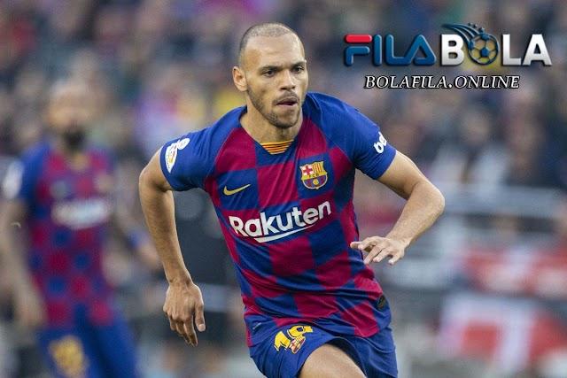 Messi Hengkang, Braithwaite Ingin Pakai Nomor 10 Barcelona