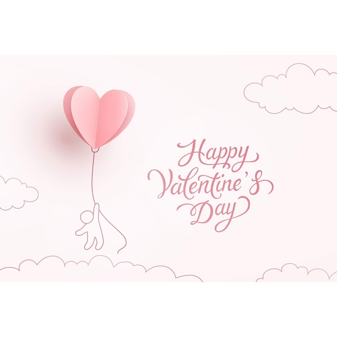 Happy couple valentines day card free vector