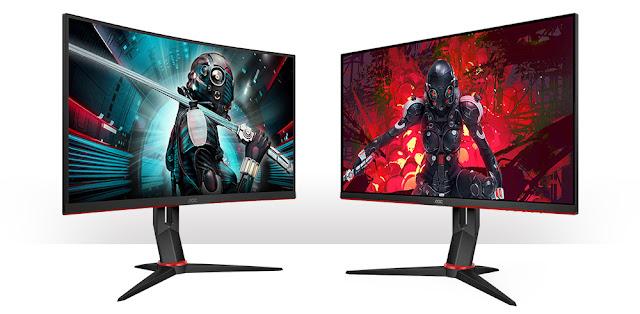 AOC lança dois novos monitores QHD de 27'' (68.6cm)