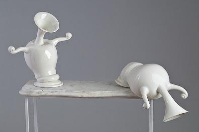 esculturas de porcelana