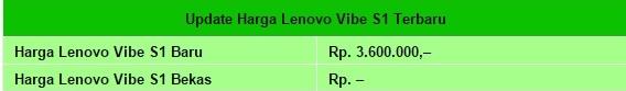 Harga HP Lenovo Vibe S1 Tahun 2017 Lengkap Dengan Spesifikasi, Layar 5 Inchi, RAM 3 GB, Processor Octa Core, Triple Kamera