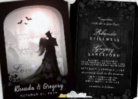 Gothic Romance Wedding Invitation Collection