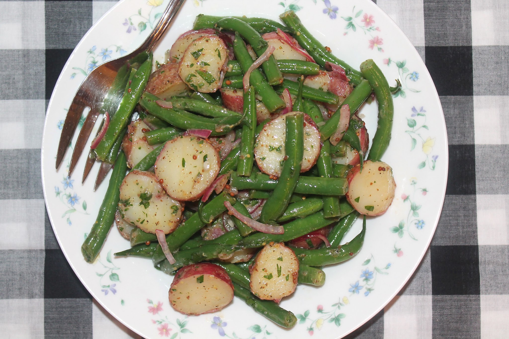 Green Bean and Red Potato Salad