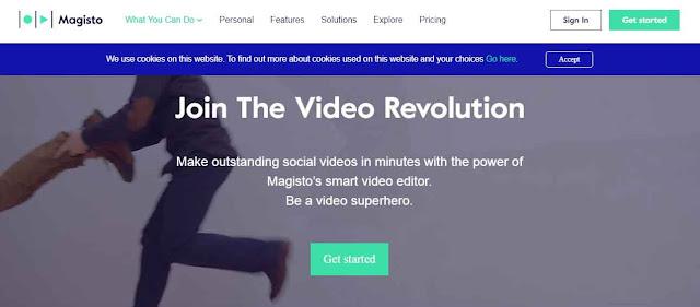 Magisto sendiri merupakan sebuah aplikasi Video Editor Online yang dirancang untuk para pengguna PC, tidak hanya PC Magisto ini juga bisa sobat unduh dalam versi android, Magisto sudah menggunakan tekonologi Artificial Intelligence untuk membuat proses pengeditan video menjadi lebih cepat dan sederhana.