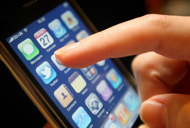 iPhone e mídias sociais