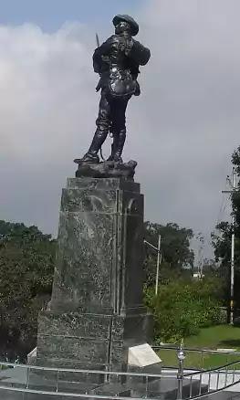 War memorial Statue of gabbar singh negi, lansdowne