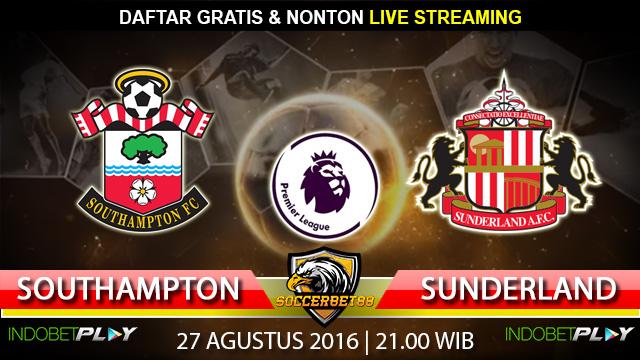 Prediksi Southampton vs Sunderland 27 Agustus 2016 (Liga Inggris)