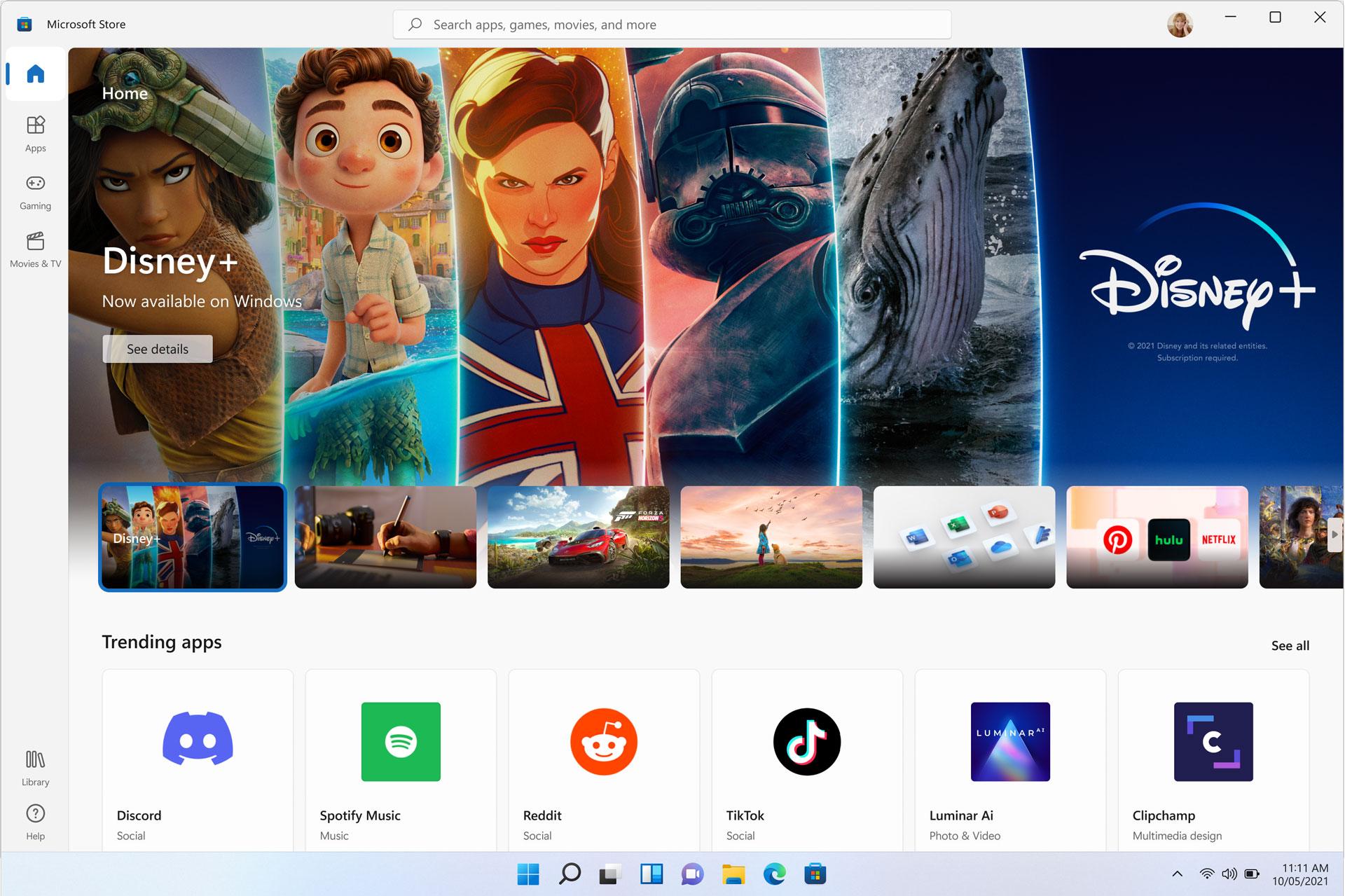 Il nuovo Microsoft Store di Windows 11 anche in Windows 10