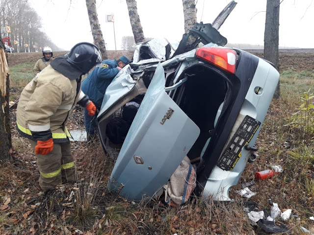 В Башкирии на опасном повороте занесло машину: погиб мужчина