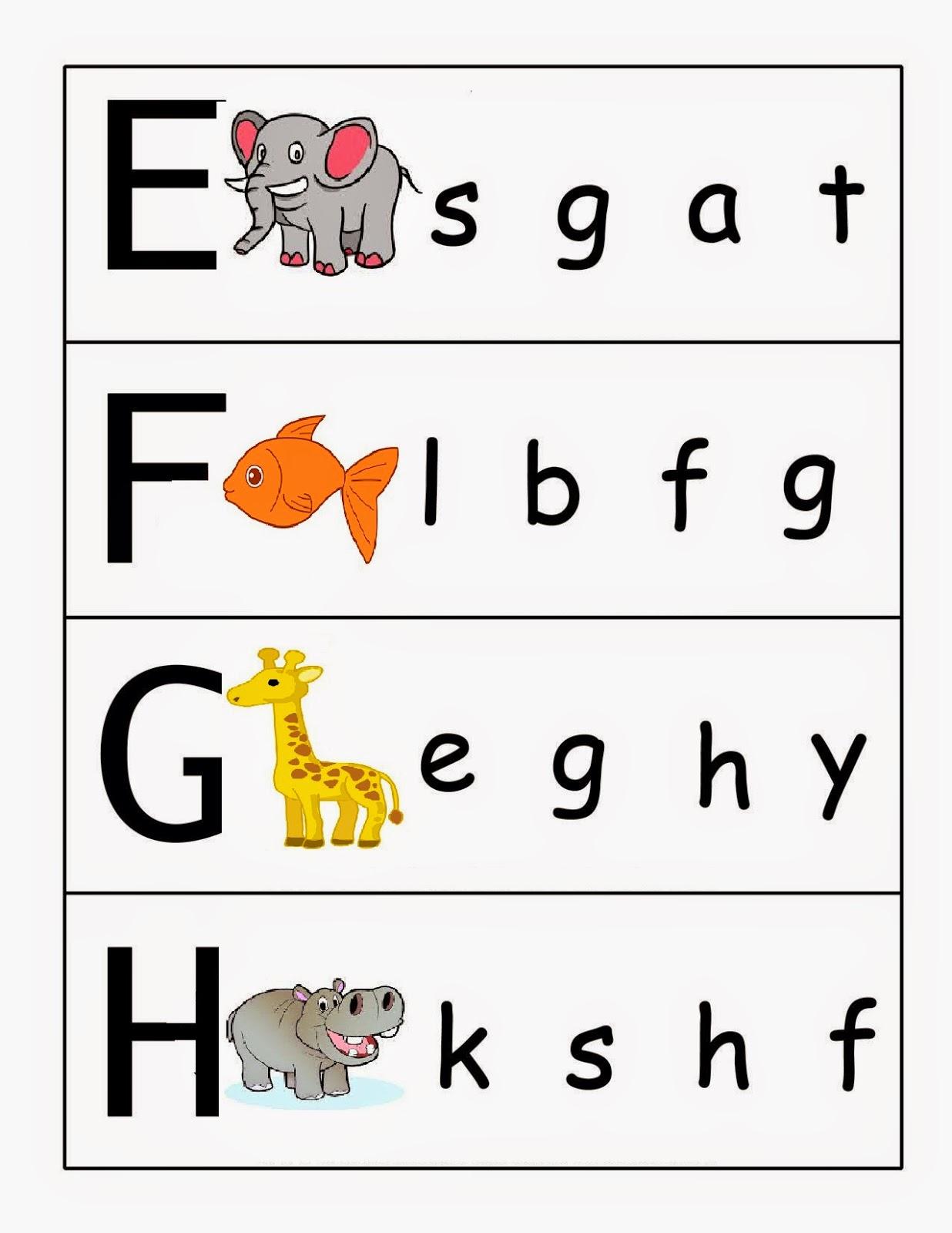 Kindergarten Worksheets Match