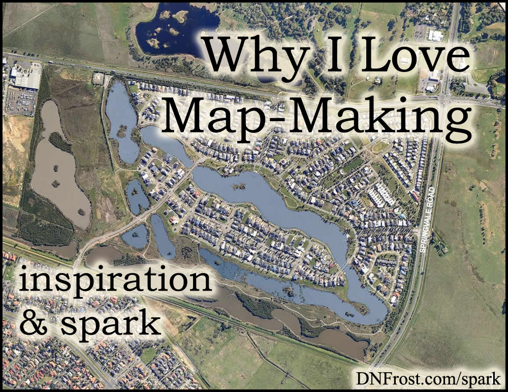 Why I Love Map-Making: a storyteller's greatest tool http://www.dnfrost.com/2016/10/why-i-love-map-making-inspiration-spark.html #TotKW Inspiration and spark by D.N.Frost @DNFrost13 Part 1 of a series.