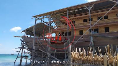 Kapal Phinisi Luxury Panjang 45 Meter