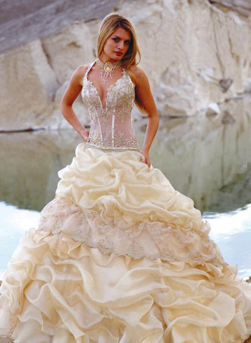 Prepare Wedding Dresses The Corset Wedding Dress