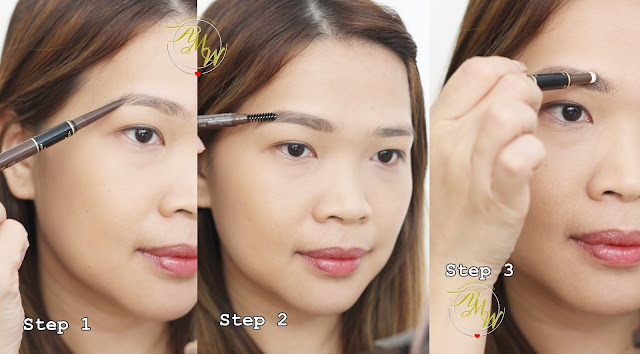 a photo of K-Palette Lasting 3Way Eyebrow Pencil