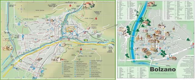 Mapa de Bolzano
