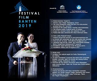 Formulir Festival Film Banten 2019