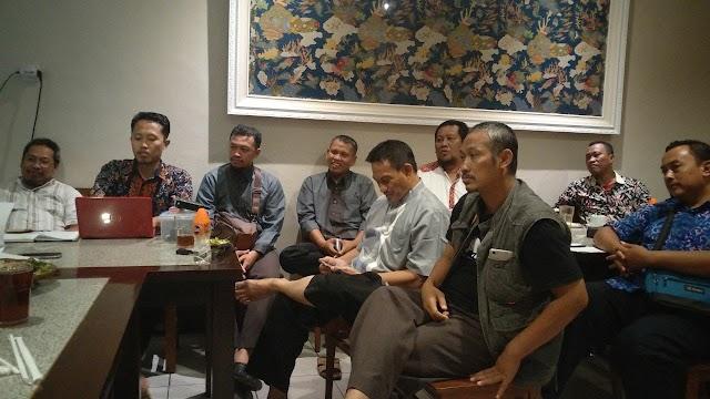 Rapat Persiapan Milad 70 di Gresik , RM Handayani