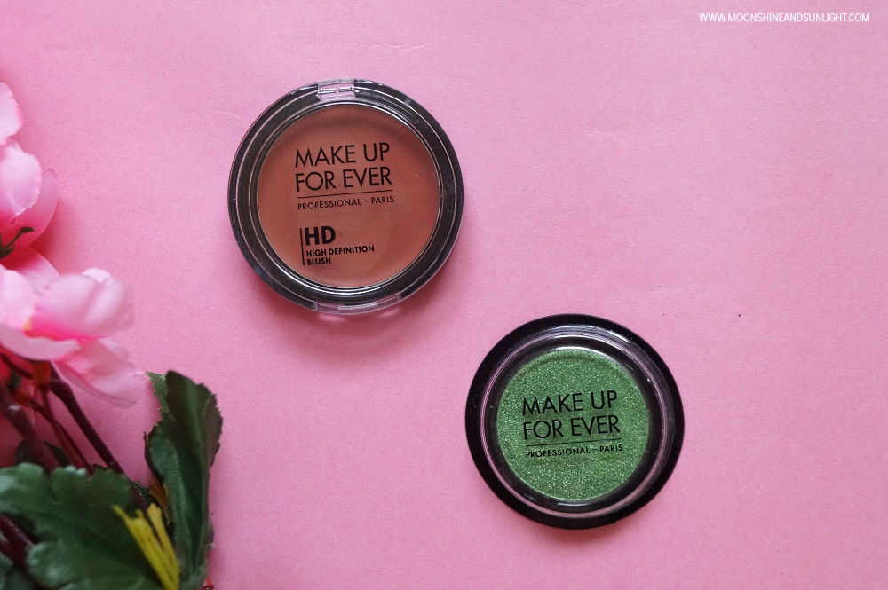 Make Up For Ever HD Blush & Artist Eye Shadow || Review & Swatches