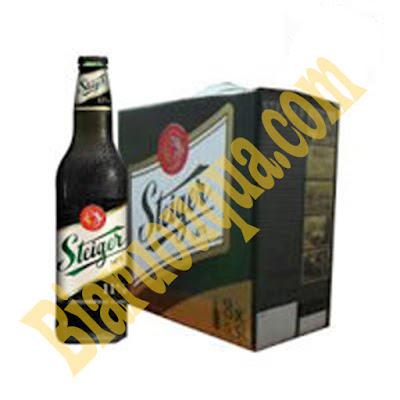 Thùng bia Steiger đen 20 chai