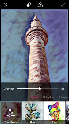 PicsArt para Android efecto 5