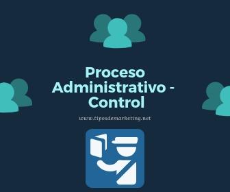 proceso administrativo control
