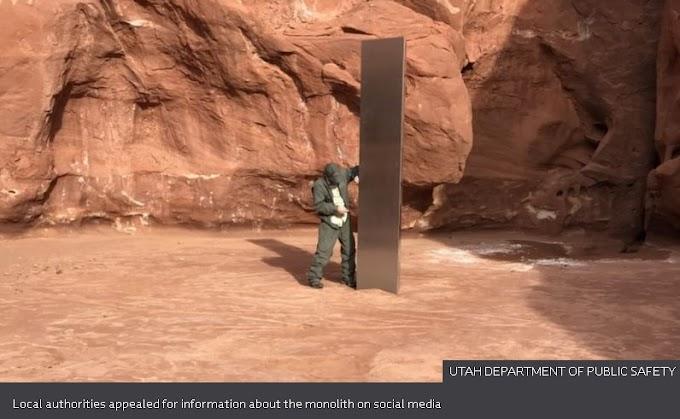 Mystery of Utah Silver Monolith