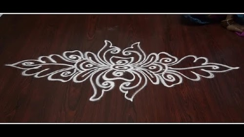 Simple Rangoli Designs without Dots