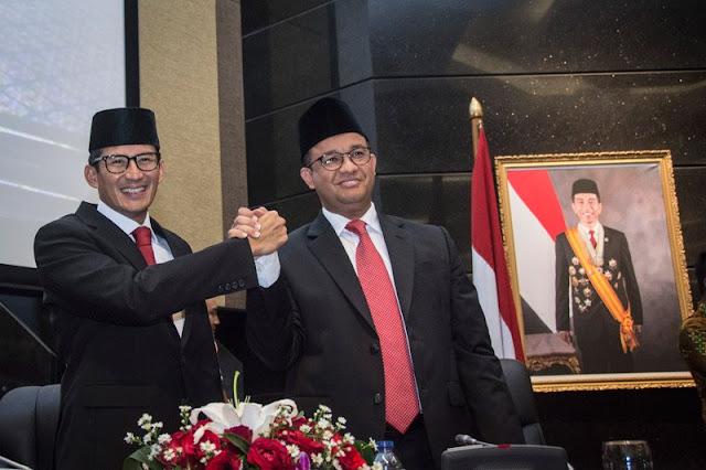 Duet Maut Anies-Sandi di Pilpres Berpotensi Usik Kedigdayaan PDIP